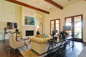 Spanish Living Room Home Design Ideas - Colonial living room design
