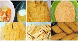 membuat nugget ayam pakai tepung terigu resep membuat nugget ayam wortel yang enak dan sehat resep dapur