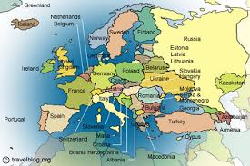map of all the countries in europe map of all european countries major tourist attractions