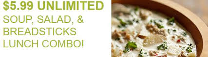 olive garden buy one take one promotion is back 5 99 unlimited