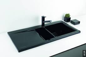 evier de cuisine noir incroyable evier de cuisine noir idées de design maison et idées