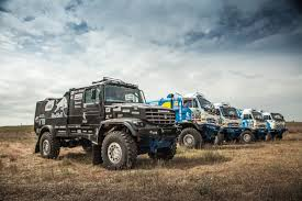 rally truck racing behold the russian made racing truck built for the 1 000 mile
