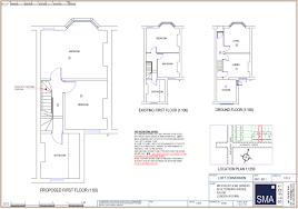 terraced house loft conversion floor plan loft conversions wandsworth extensions putney