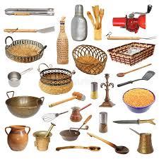 objets de cuisine collection de différents ustensiles et objets de cuisine photo