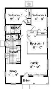 3 bedroom 2 story house plans simple 1 floor house plans ipbworks