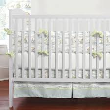 rabbit crib bedding bunny cottontail toile crib bedding gender neutral crib