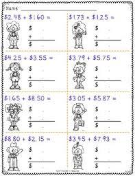 adding money worksheets by catherine s teachers pay teachers