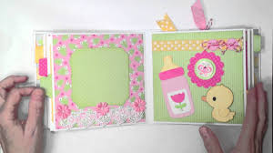 baby girl photo album doodlebug baby girl mini album