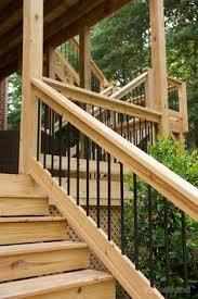 cedar deck railing with iron view more deck railing ideas http