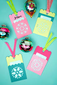 how to make gift cards snowflake gift card holder tags happiness is