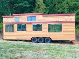 Tiny House For Family Of 4 by Chinook 30 Tiny House Westcoast Outbuildings