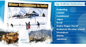 winter destinations in india