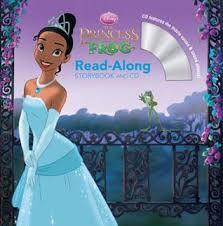 princess frog storybook cd walt