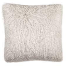 Safavieh 20 Inch Shag Modish Metallic Metalic Snow Decorative