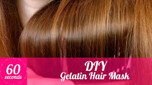 using gelatin for your hairstyles for women over 50 gelatin hair mask diy hair mask for shiny smooth hair in 60