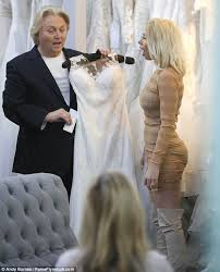 olivia buckland goes wedding dress shopping with fiance daily