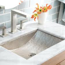hammered nickel bathroom sink avila copper bathroom sink native trails