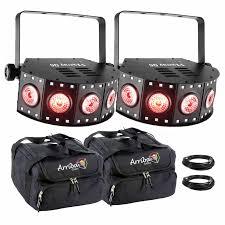 chauvet dj fxarray q5 effect light 2 chauvet dj fxarray q5 wash lights with protective cases idjnow