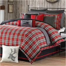comforters ideas magnificent plaid comforter set marvelous blue
