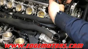 e60 m5 throttle body actuator replacement by edge motors youtube