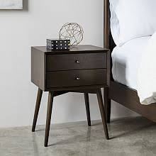 Dark Grey Nightstand Nightstands Dressers U0026 Wardrobes West Elm