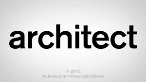 how to pronounce architect youtube