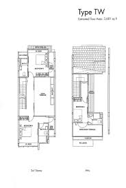 the rivervale condo floor plan brooks signature floor plans property market in singapore