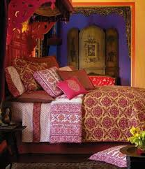 Bedroom Decorating Ideas Hippie Bohemian Hippie Bedroom Ideas Wall Mounted Beige Square Low