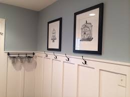 Lowes Valspar Colors Mudroom Updated With Board And Batten Wall Color Valspar Woodlawn