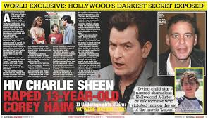 Hollywood S Most Toxic Bromance The Implosion Of Charlie - harlie sheen s former friend serves tea lipstick alley