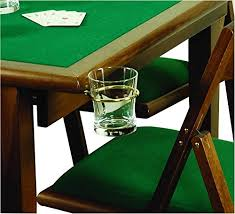 Table Cup Holder Hidden U201cpoker Game Table With Cup Holders U2013 Search Furniture