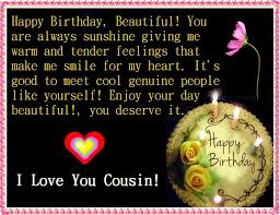 thanksgiving words for birthday wishes to cousin with message saying