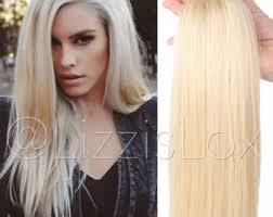 headkandy extensions 22 in extensions black to silver ombre 100 remy