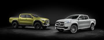 volkswagen truck concept mercedes benz pick up trucks are on the way core77