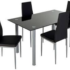 ensemble table chaises cuisine chaise cuisine noir chaises dans bastia table carre pratique gain
