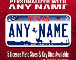 Il Vanity Plates Texas License Plate Etsy