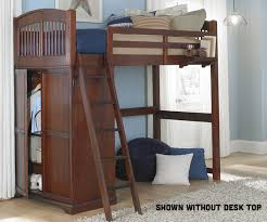 Loft Bed Without Desk Twin White Locker Loft Bunk Bed With Desk 8060 Desk And 8060 Desk