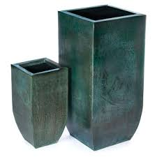 best blue outdoor planters urns products on wanelo