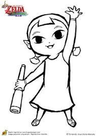 zelda coloring page l u0027ancien roi d u0027hyrule un personnage du jeu zelda à colorier
