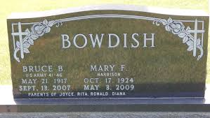 bruce b bowdish 1917 2007 find a grave memorial