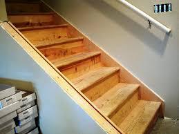 elegant basement stairs finishing ideas finishing basement stairs