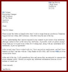 9 resignation letter sample with notice period jobstreet