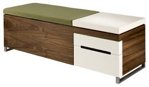 Modern Storage Bench Modern Shoe Storage Bench Adorable For Home Decor Arrangement