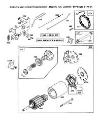 briggs u0026 stratton engine parts model 28n707017301 sears