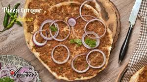 amour de cuisine pizza recette de pizza turque authantique lahmacun ou pizza à la viande