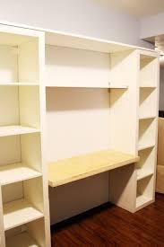 Bookshelves And Desk Built In by Best 20 Bookshelf Desk Ideas On Pinterest Desks For Small
