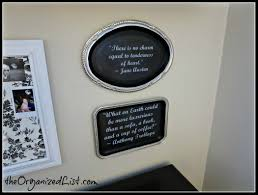 diy custom wall quotes with dollar tree trays instead i