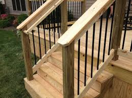 Deck Handrail Image Gallery Deck Handrails