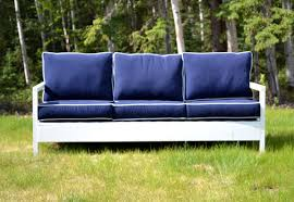Converting Outdoor Sofa Ana White Simple White Outdoor Sofa Diy Projects