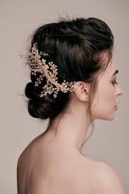bridal hairstyle ideas penny gold beaded crystal hair comb u2014 taylor u0026 rose